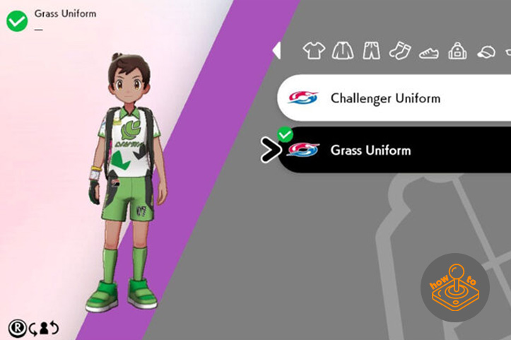 How to change uniform - Pokemon Sword and Shield