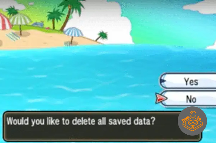 How to reset Pokemon Sun and Moon