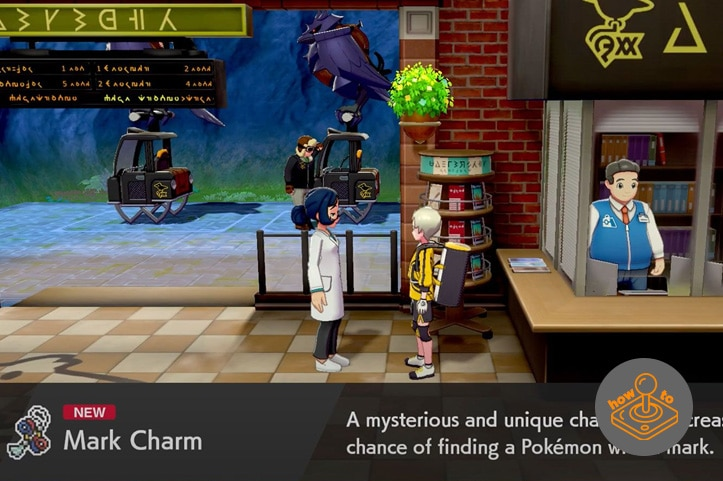 How to get the Mark Charm in Pokemon Sword and Shield