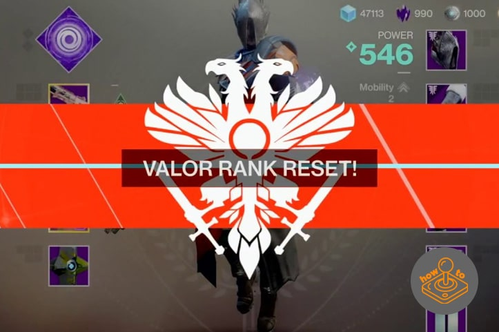 How to reset valor rank - Destiny 2