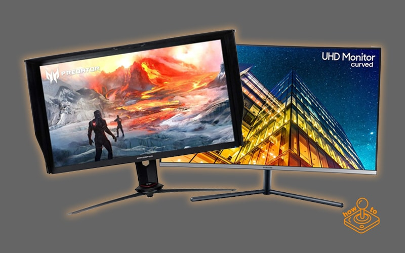 Acer Predator XB273K and Samsung 32-Inch UR590C monitors