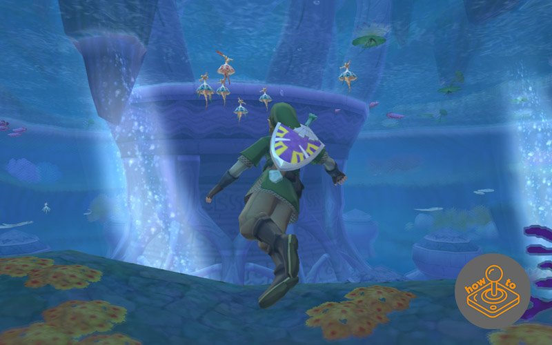 how to dive in skyward sword