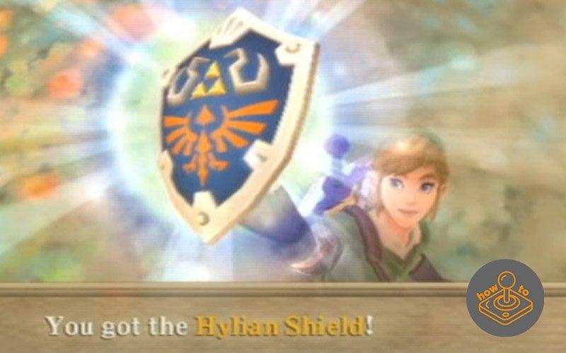 how to get hylian shield skyward sword