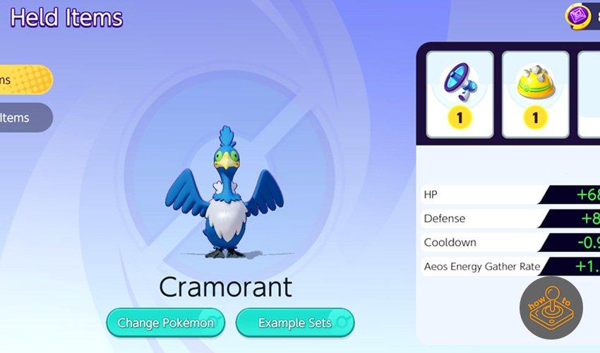 pokemon unite held items