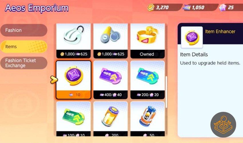 pokemon unite item enhancer