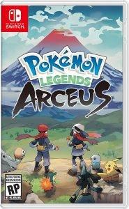 pokemon legends arceus box art